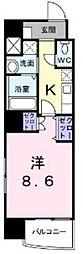 アブリル 横濱[9階]の間取り