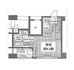 レガスタ浅草[9階]の間取り