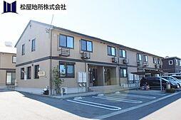 愛知県豊橋市牟呂町字古幡焼の賃貸アパートの外観