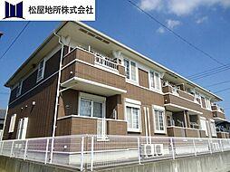 愛知県豊橋市西幸町字古並の賃貸アパートの外観