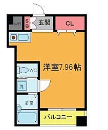 YASUIビル第7[1階]の間取り