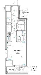 アパートメンツ銀座東[12階]の間取り