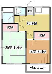 小宮山荘[1階]の間取り
