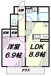 JR中央線 国立駅 徒歩8分の賃貸アパート