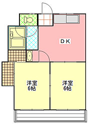 ReNaXiA -Tsukuba Higashi-[202号室]の間取り