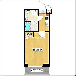 グランパーク東京NORTH[205号室]の間取り