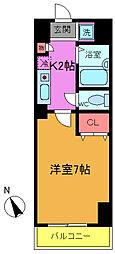 シャイロ本八幡[6階]の間取り