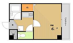 藤の棚ハイツ[2階]の間取り