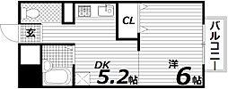 兵庫県神戸市須磨区稲葉町3丁目の賃貸マンションの間取り