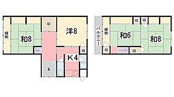 [一戸建] 兵庫県姫路市神子岡前2丁目 の賃貸【兵庫県 / 姫路市】の間取り