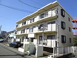 神奈川県伊勢原市東成瀬の賃貸マンションの外観