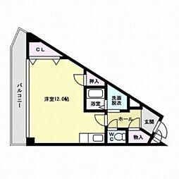 シンフォニー大野城[4階]の間取り