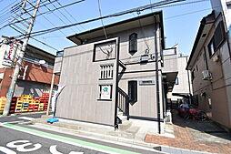 埼玉県さいたま市中央区上落合7丁目の賃貸アパートの外観