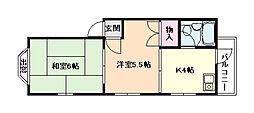 プラザハイム田川[3階]の間取り