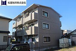 愛知県豊橋市つつじが丘2丁目の賃貸マンションの外観