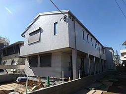 埼玉県川口市桜町4丁目の賃貸アパートの外観