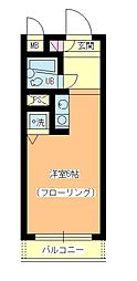 ビクセル武蔵関[2階]の間取り