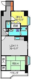 KNCビル弐番館[4階]の間取り