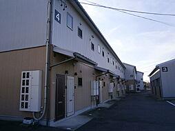 愛知県岡崎市竜泉寺町字後山の賃貸アパートの外観
