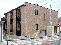 愛知県岡崎市上和田町字南屋敷の賃貸アパートの外観