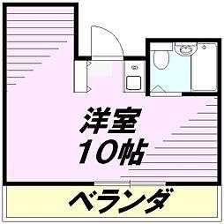 パル京南No.13[3階]の間取り