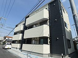 大阪府豊中市稲津町2丁目の賃貸アパートの外観