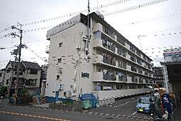 村野マンション[4階]の外観