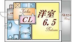 パロス須磨戸政町[2階]の間取り