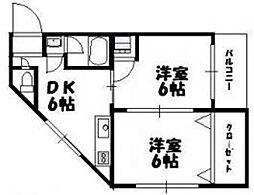 I-court 平野元町[1階]の間取り