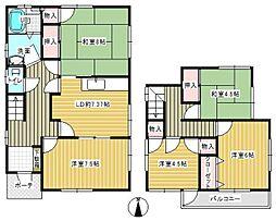 [一戸建] 福岡県福岡市南区柏原4丁目 の賃貸【/】の間取り