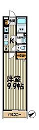 神奈川県横浜市栄区笠間5丁目の賃貸マンションの間取り