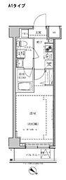 東武東上線 東武練馬駅 徒歩10分の賃貸マンション 6階1Kの間取り