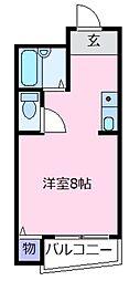 ジョイフル21[6階]の間取り