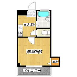 メゾンド蔵 弐番館[2階]の間取り