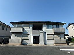 栃木県下野市緑1丁目の賃貸アパートの外観