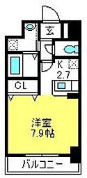 埼玉県さいたま市大宮区吉敷町1丁目の賃貸マンションの間取り