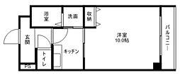 FLAT都賀山[3階]の間取り