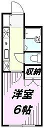 サン・ビューコーポ[2階]の間取り