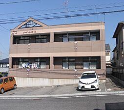 愛知県岡崎市真伝2丁目の賃貸アパートの外観