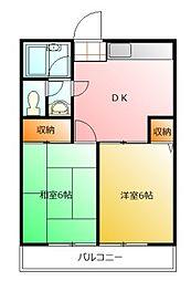 第2藤野マンション[2階]の間取り