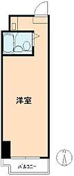 高田馬場ダイカンプラザ[4階]の間取り