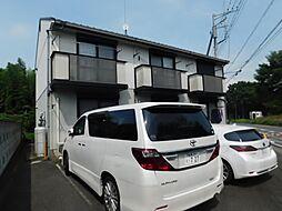 神奈川県厚木市愛甲西1の賃貸アパートの外観