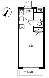 スカイコート向ヶ丘遊園第二[1階]の間取り