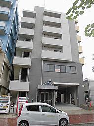 神奈川県横浜市都筑区茅ケ崎中央の賃貸マンションの外観