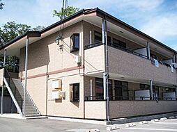 長野県茅野市湖東の賃貸アパートの外観