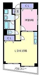 ザウバーベルグ[5階]の間取り