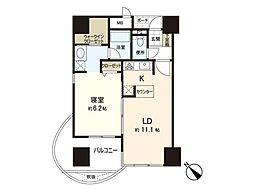 サンシティ博多FLEX21[8階]の間取り