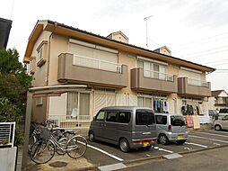 埼玉県川越市川鶴3丁目の賃貸アパートの外観