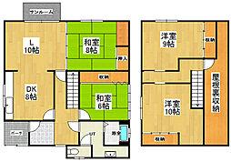 [一戸建] 北海道小樽市幸2丁目 の賃貸【北海道/小樽市】の間取り