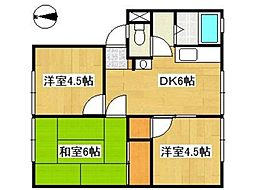 高南マンション[1階]の間取り